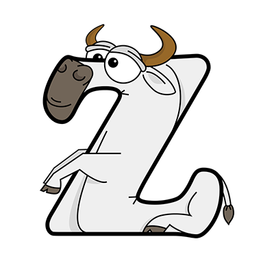 Animals that start with Z Alphabetimals