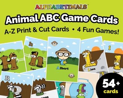 Alphabetimals ABC Game Cards