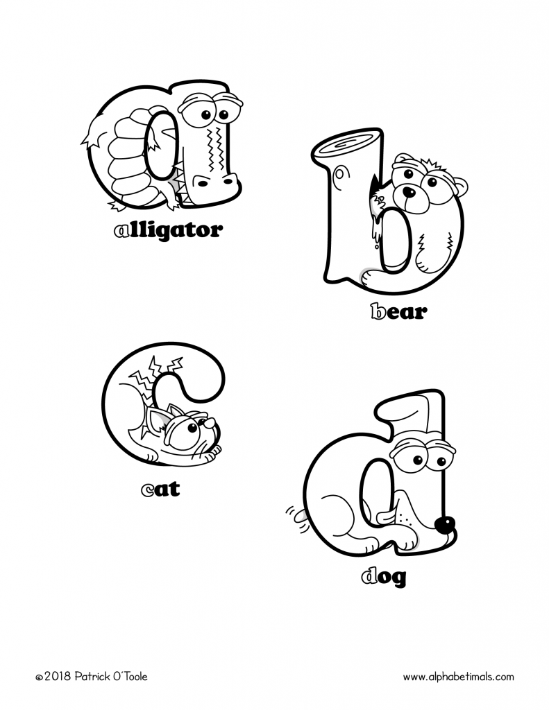 Printable Coloring Pages Lowercase