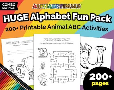 Alphabetimals HUGE Alphabet Fun Pack