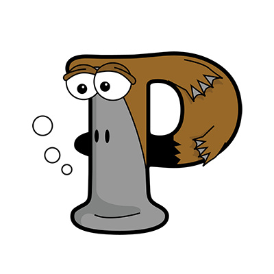 Cartoon Platypus | Alphabetimals.com