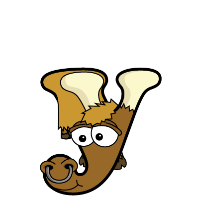 Cartoon yak | Alphabetimals.com