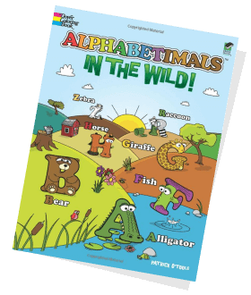 Alphabetimals Coloring Book: In the Wild