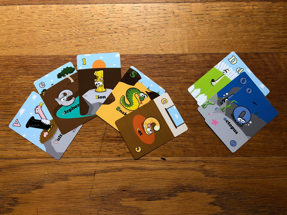 Animal Go Fish Cards for Kids