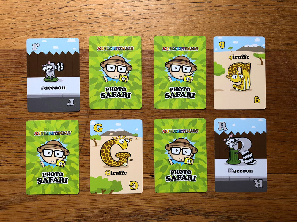 Animal Memory Cards for