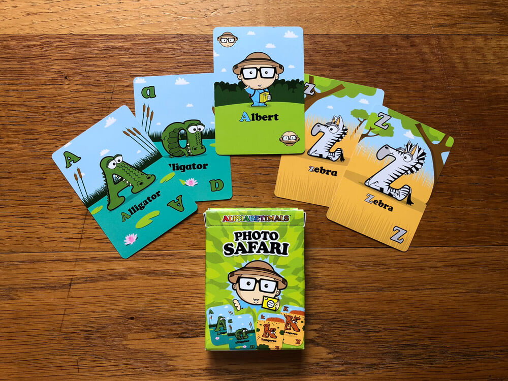 Animal Old Maid Cards for Kids
