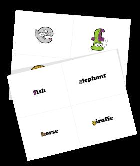 Free Lowercase Alphabet Flash Cards