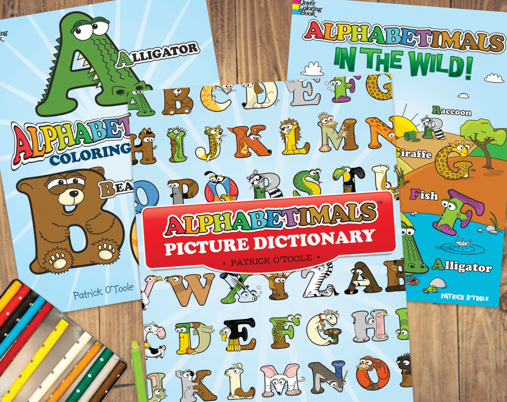 Alphabet Coloring Books for Kids