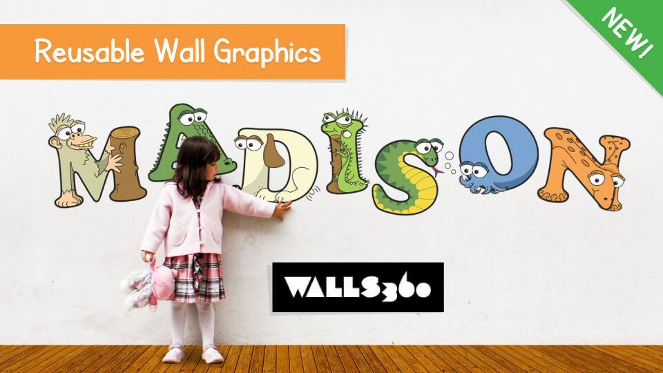 Alphabet Wall Stickers for Kids